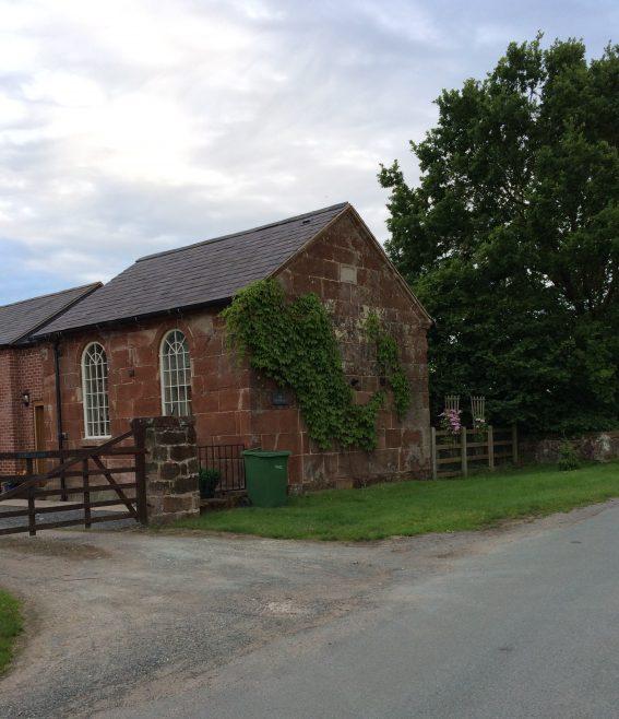 former Webscott Primitive Methodist chapel, as it was in July 2017 | Alison Shepherd