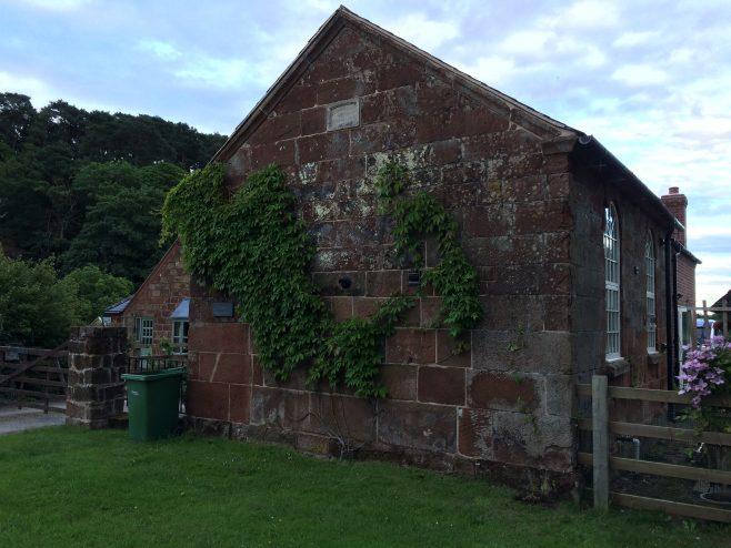 former Webscott Primitive Methodist chapel with its stone plaque, as it was in July 2017 | Alison Shepherd