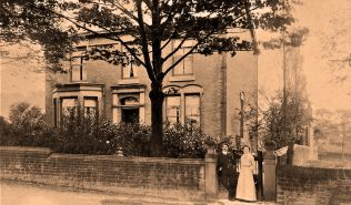 Ministers House in Woodley, still standing and not far from the Methodist Church in Woodley, Stockport. | Supplied by Arthur Steevens