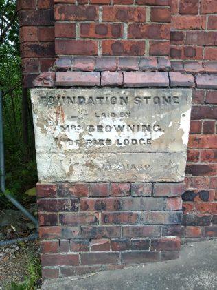 Foundation Stone   Supplied by Tony Gray