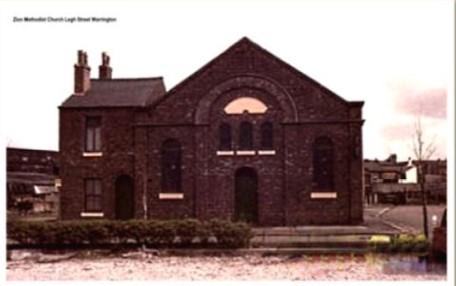 Warrington Zion Primitive Methodist chapel