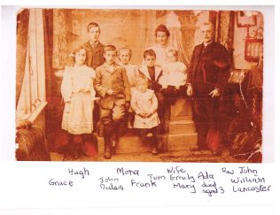 The Lancaster Family circa 1908 | Supplied by Dorothy Lancaster