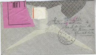 Reverse of envelope showing the return address | Jonathan Talbot