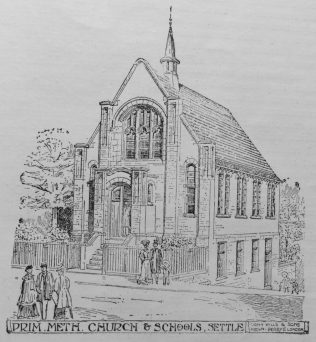 Architect's Sketch of Chapel published in the Primitive Methodist Magazine 1910