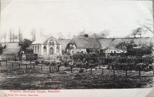 Manuden Primitive Methodist chapel | postcard from the collection of Revd Steven Wild
