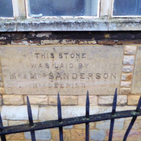 Foundation stones - 2   G.W. Oxley
