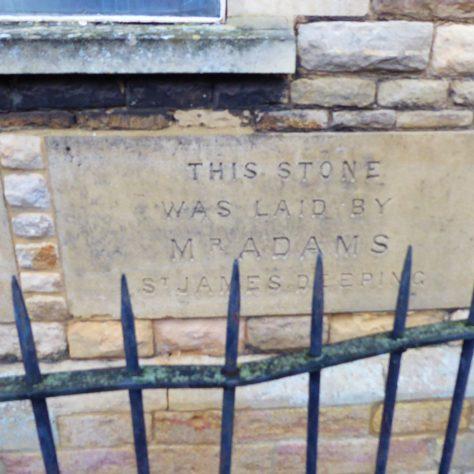 Foundation stones - 3   G.W. Oxley