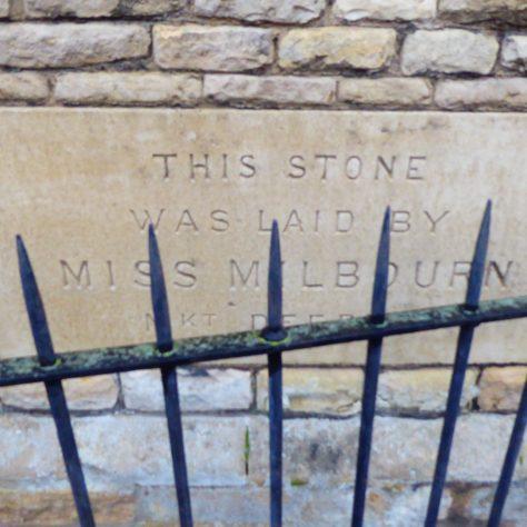 Foundation stones - 4   G.W. Oxley