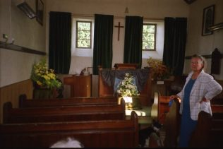 Chapel interior - view of pulpit | Brian Carlick