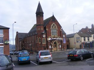 former Chesterfield Holywell Cross Primitive Methodist chapel as Livingstone's night club | Godfrey Holmes