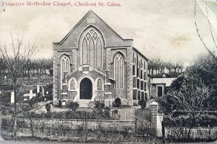 Chalfont St Giles  Primitive Methodist chapel | postcard from the collection of Revd Steven Wild