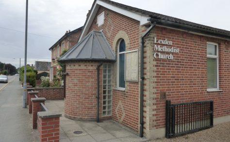Lexden Primitive Methodist chapel
