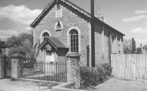 Cadnam Primitive Methodist chapel
