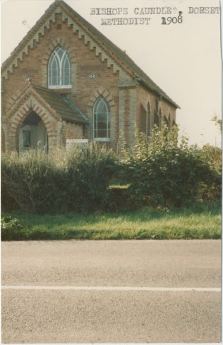 Bishops Caundle Primitive Methodist chapel 1908 | Englesea Brook Collection