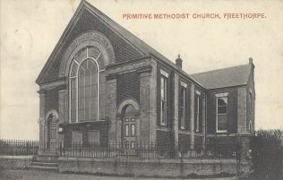 Freethorpe Primitive Methodist chapel: from a postcard sent in 1905 | provided by Randle Knight