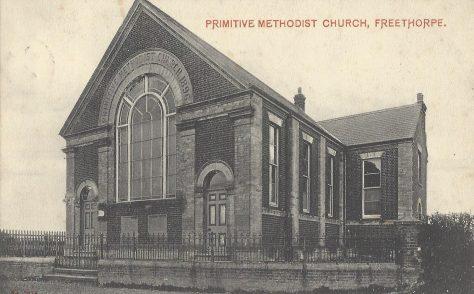 Freethorpe Primitive Methodist chapel