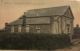Halvergate Primitive Methodist chapel | Postcard provided by Steve Wild