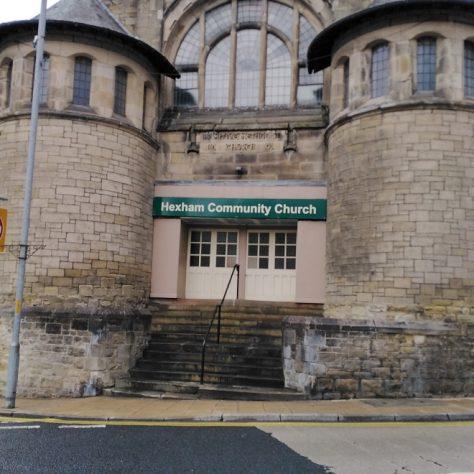 Hexham Primitive Methodist chapel in 2021   Marian Young