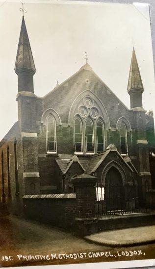 Loddon High Street Primitive Methodist chapel | postcard from the collection of Revd Steven Wild