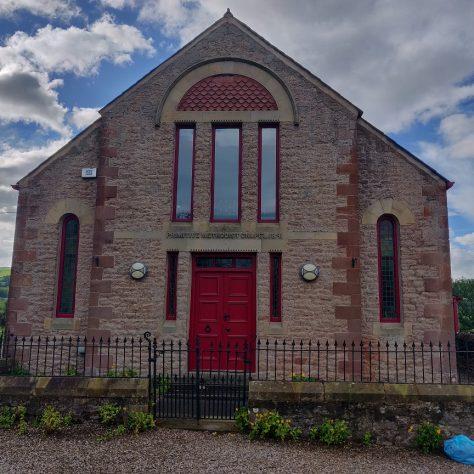 Kaber Primitive Methodist chapel   Tim Macquiban August 2020