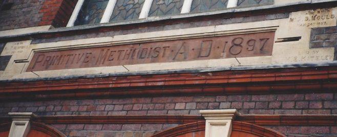 Luton High Town Primitive Methodist chapel carvings | Englesea Brook collection:  ENBPM:2020.119d