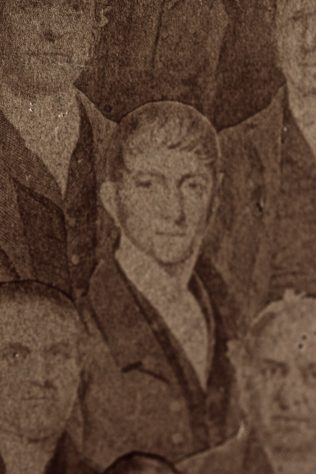 Rev Thomas Charlton as a younger man | from the 1858 composite picture of Primitive Methodist ministers