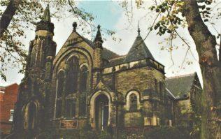 Leeds Harehills Primitive Methodist chapel as a Greek Orthodox church, exterior | Englesea Brook postcard collection ENBPM:2020.107
