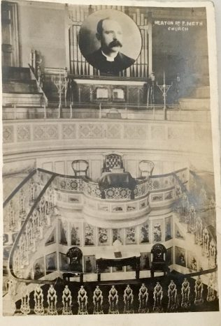 Newcastle upon Tyne Leighton Primitive Methodist chapel | Rev Steven Wild