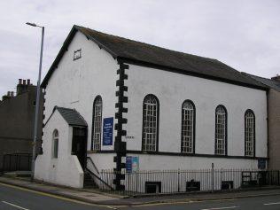 Dalton in Furness, Ulverston Road Chapel, Queen street side, 3.7.2016   G.W. Oxley