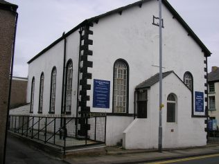 Dalton in Furness, Ulverston Road Chapel, front, 3.7.2016   G.W. Oxley