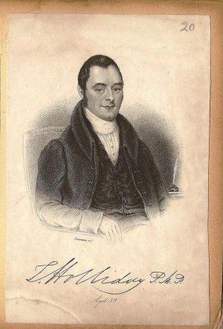 Thomas Holliday - born 1797 | Englesea Brook Museum