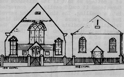 Catshill Primitive Methodist chapel