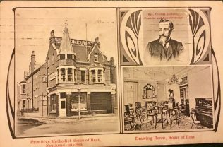 Primitive Methodist Home of Rest | Postcard in the collection of Rev Steven Wild