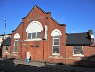 Former Sunday School building at Paradise Primitive Methodist chapel, Foleshill | Anne Langley February 2020