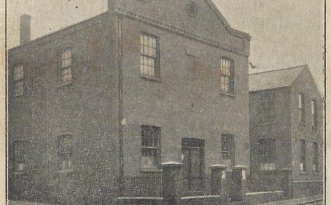 West Bromwich Guns Lane Primitive Methodist chapel