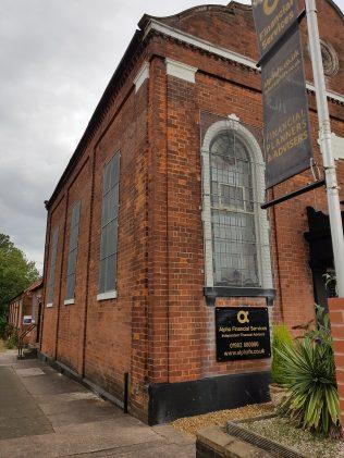 Sedgley Primitive Methodist chapel  left side view | Keith Allden 2019