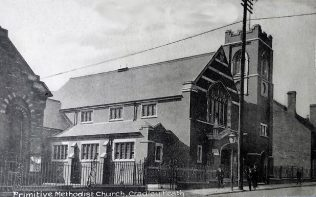 Postcard of the Church circa 1920   Supplied by Mike Fenton