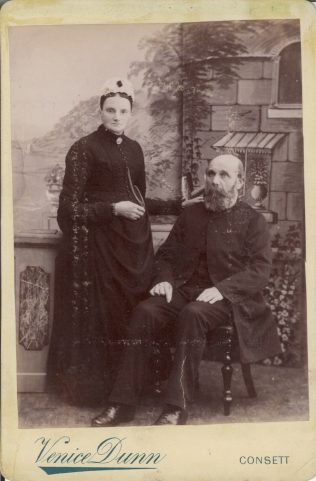 Ann Featherstone nee Walton nee Harrison with her second husband Joseph Featherstone | Supplied by Judith Rogers