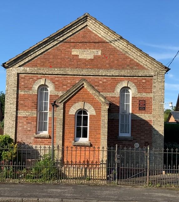 Aston Abbotts Primitive Methodist chapel   Janet Felstead June 2021