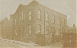 Lees Primitive Methodist chapel: undated postcard   provided by Randle Knight