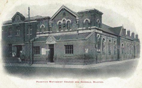 Bilston Primitive Methodist chapel