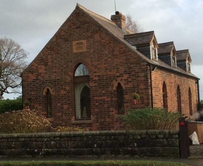 Manley Primitive Methodist chapel | Christopher Wells December 2020
