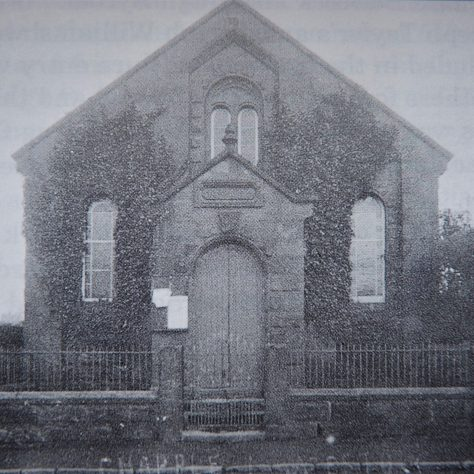 Little Neston Primitive Methodist chapel , probably in the 1920s | Provided by Edward Hilditch