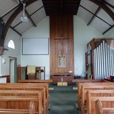 Little Neston Primitive Methodist chapel interior | Ed Hilditch June 2020