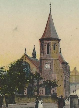 Chester le Street Primitive Methodist chapel from a postcard sent in 1907 | provided by Randle Knight