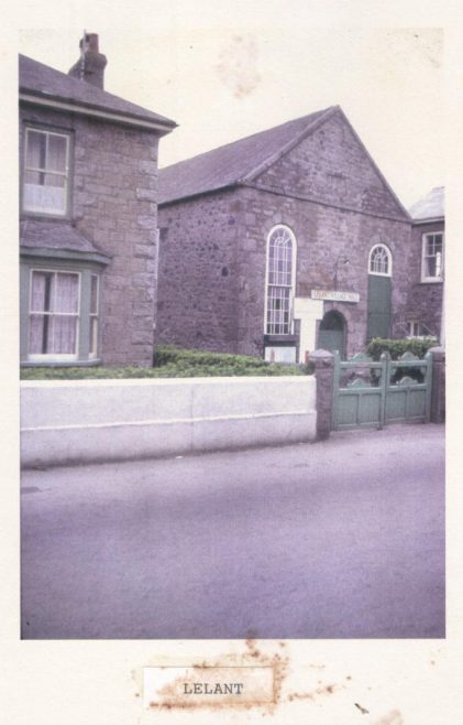 Former Lelant Primitive Methodist chapel, since 1924 the village hall | from the David Alan collection at St Ives Museum; provided by Val Thomas