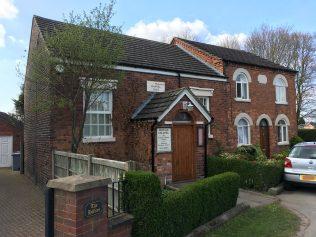 former Hough Primitive Methodist chapel   Christopher Hill April 2019
