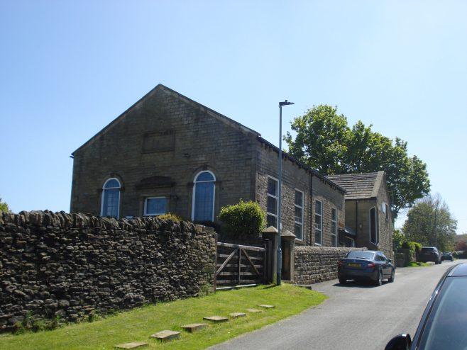 Scholes Primitive Methodist chapel   Stan Driver 2021