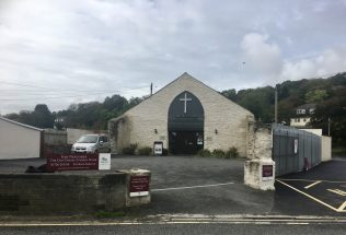 Funeral Directors at the back of the site of the demolished chapel | Jo Lewis
