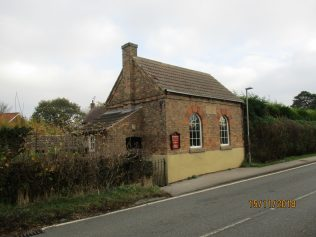 Ompton Primitive Methodist chapel, still in use   Christopher Hill 2018